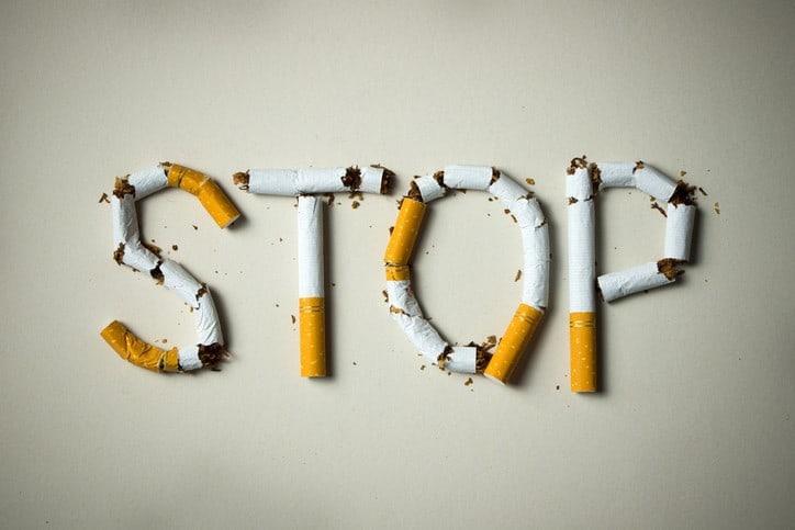 trying to quit smoking, quit smoking