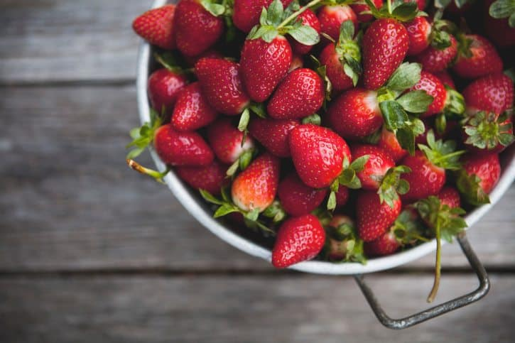 strawberry, strawberry roses, valentine's day, strawberries