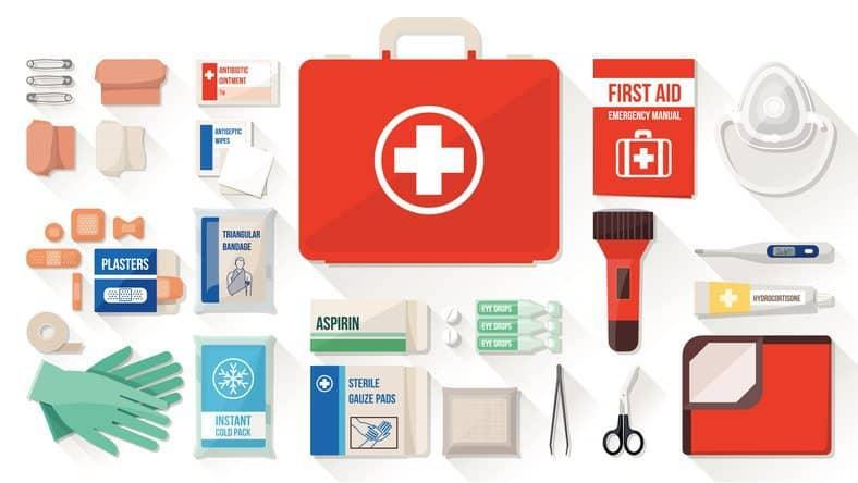 diy first aid kit, first aid kit, summer first aid kit
