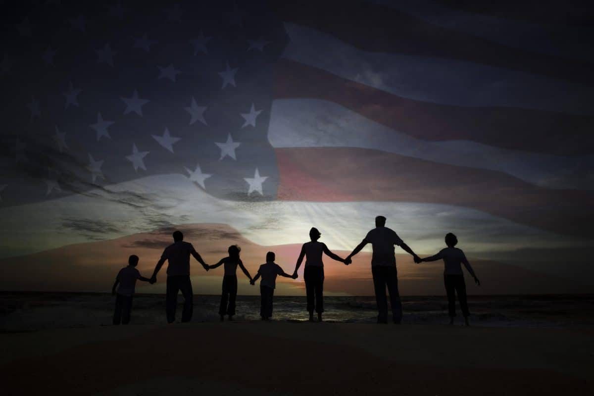 united we stand divided we fall, healing division